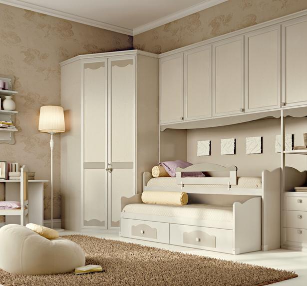 Camerette mansardate camere da letto mansarda with - Ikea armadio cameretta ...